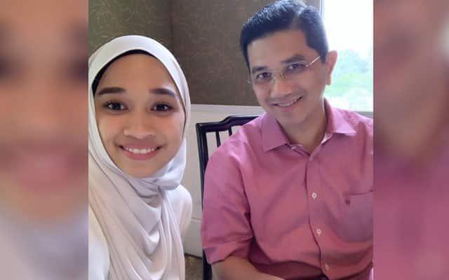 Lepas Azmin kini anaknya pula teruk dihentam pengguna Twitter