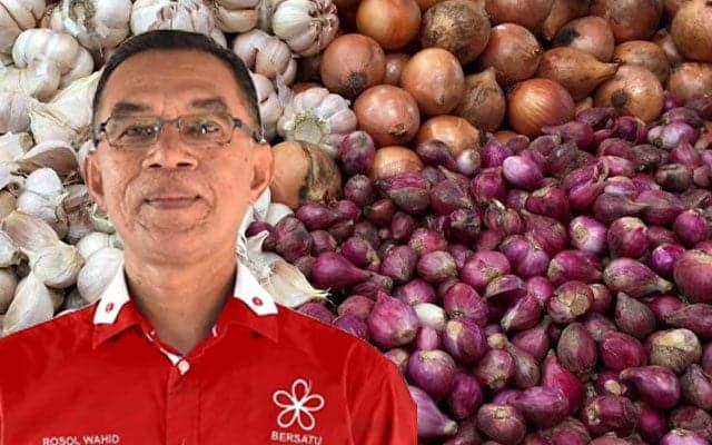 Harga bawang naik sebab musim tengkujuh – Timb Menteri