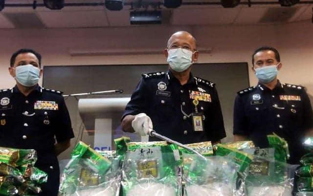 Panas !!! Usahawan kosmetik dari Kelantan ditahan, syabu bernilai RM5 juta dirampas