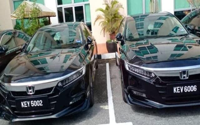 Gempar !!! Deretan lebih 10 kereta Honda Accord baru tiba di Wisma Darul Aman