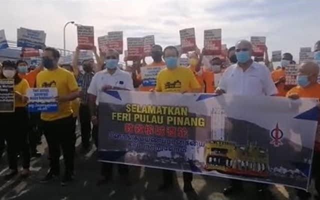 Feri Pulau Pinang mungkin kembali jika kerajaan bertukar