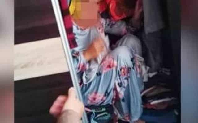 KANTOI   Bini orang takut ditangkap sorok dalam almari