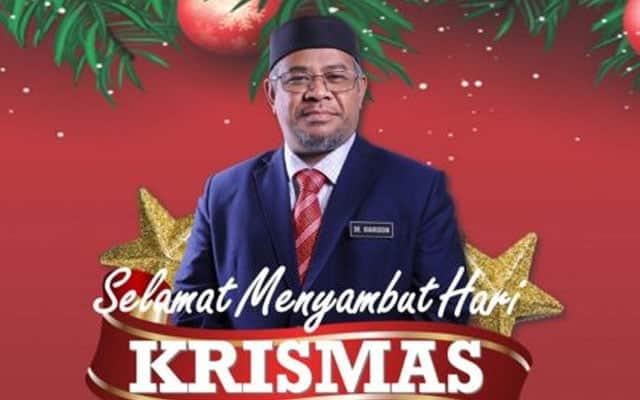 Menteri Pas ucap Selamat Menyambut Hari Krismas, ahli jadi bingung