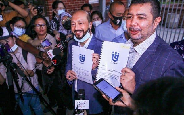 Pendaftaran PN boleh pula segera, Pejuang bawa isu pendaftaran ke mahkamah
