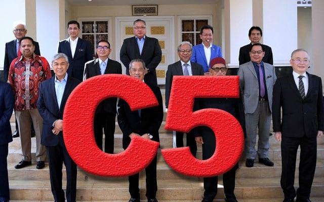 Gempar !!! Siapa kumpulan 'C5', perancang utama kerajaan PN?
