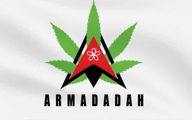 Armada bengang logo Bersatu dibubuh daun ganja, netizen guna #ARMADADAH