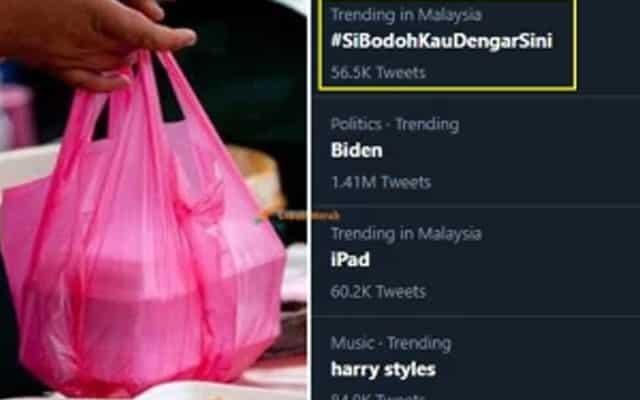 Asal usul #SiBodohKauDengarSini hingga jadi trending