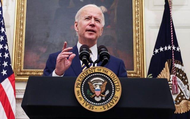 Terkini !!! Biden mahu pulihkan segera hubungan dengan Palestin