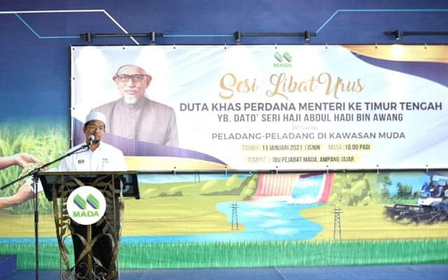 Duta Khas Timur Tengah melawat MADA di Kedah