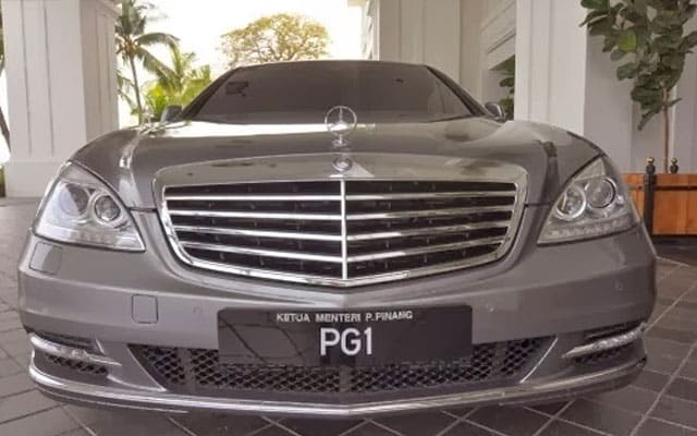 Ketua Menteri Pulau Pinang tukar kereta baru, kelulusan pembelian pada Nov 2019