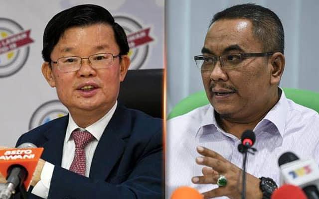 Caj air : KM Pulau Pinang kata jumpa di mahkamah kepada Sanusi