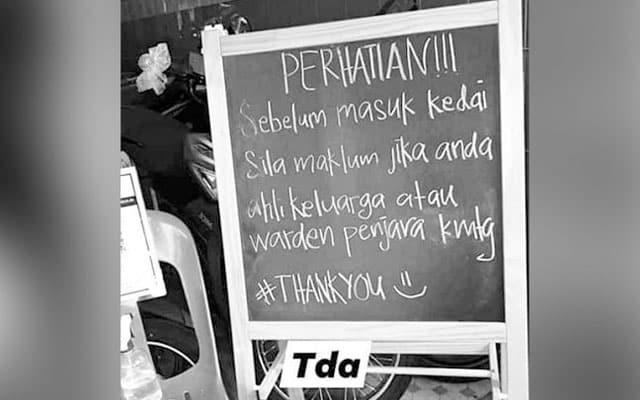 Bimbang dijangkiti, ada peniaga di Perak tak benarkan frontliners beli barangan di kedai mereka