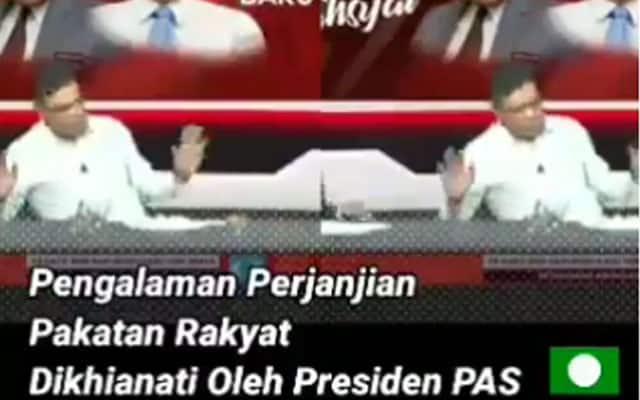 [Video] Gempar !!! Saifuddin dedah Pas tidak boleh dipercayai dan suka khianat