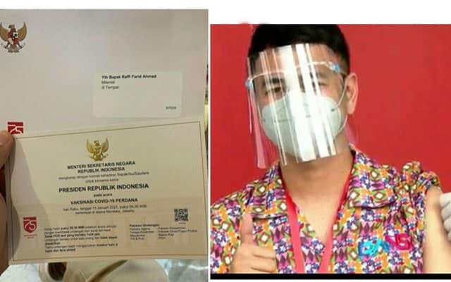 Rakyat Indonesia mula terima suntikan vaksin Covid-19