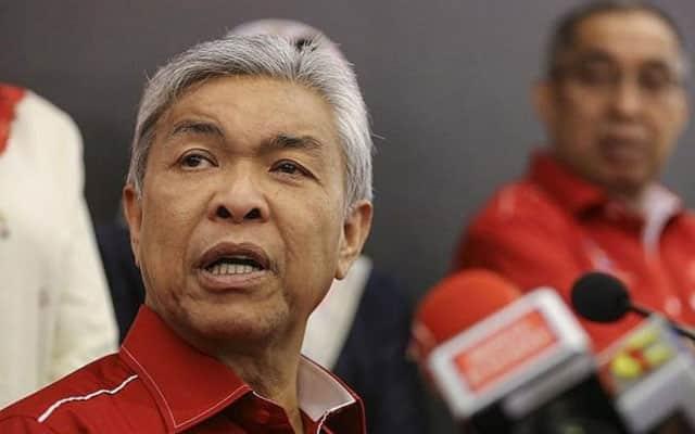 Zahid mohon maaf kepada rakyat kerana isu dibangkitnya tidak dilayan kerajaan PN