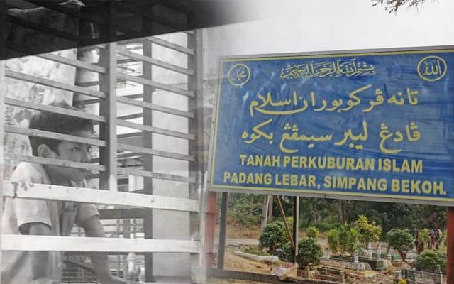 Jenazah amir dikebumikan di Melaka