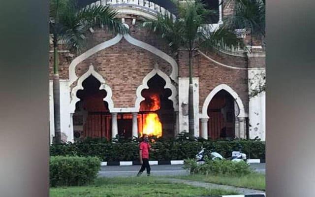 Panggung Bandaraya terbakar gara-gara mahu halau nyamuk