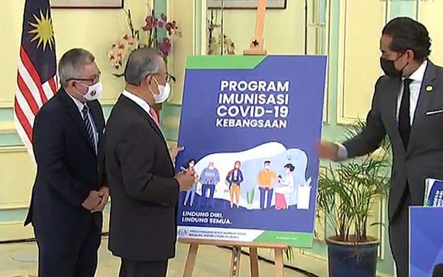 Vaksin dijangka tiba Ahad ini, PM akan disuntik 26 Feb