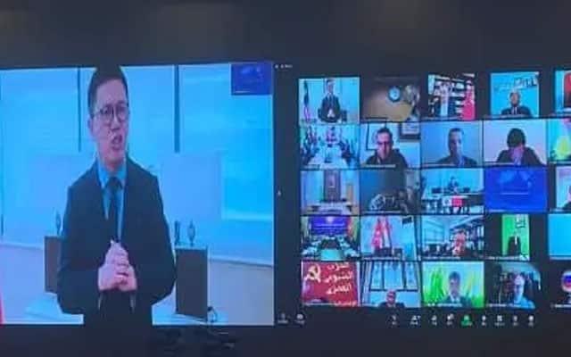 Panas !!! Naib Presiden MCA diberi penghormatan berucap di pentas Parti Komunis Negara China