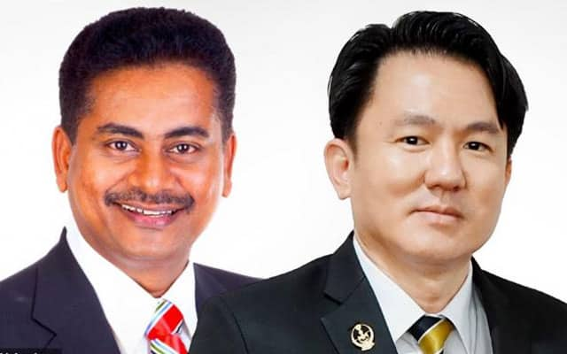Terkini !!! Dua bekas Adun DAP umum masuk Bersatu