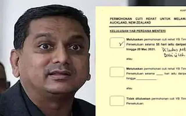 Gempar !!! Hanya pemaustatin tetap boleh masuk New Zealand, cetus persoalan netizen status Timb Menteri