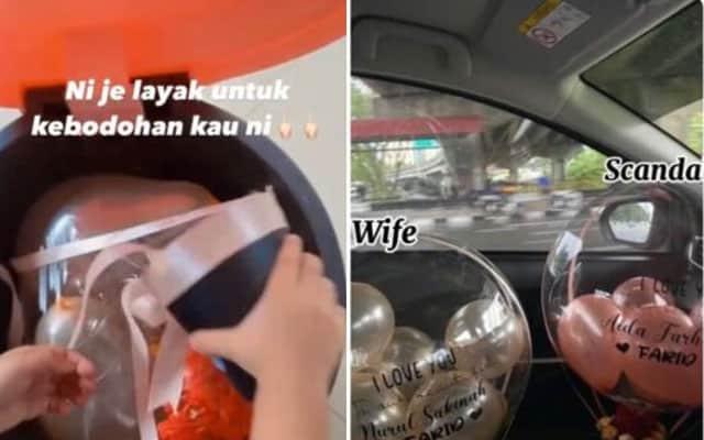 Suami kantoi suprisekan isteri sekali bocor rahsia ada skandal…