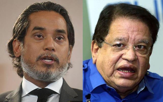 Panas !!! Khairy bakal ganti Ku Nan di parlimen Putrajaya?