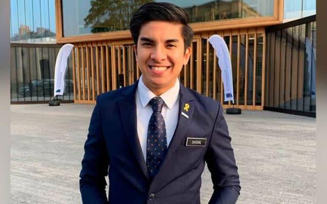 Syed Saddiq sambung belajar di Singapura, sumbang gaji pada Parlimen Muar