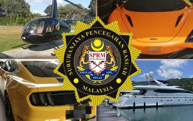 WOW !!! SPRM dedah foto kenderaan2 mewah yang dirampas daripada 'kartel projek' kerajaan