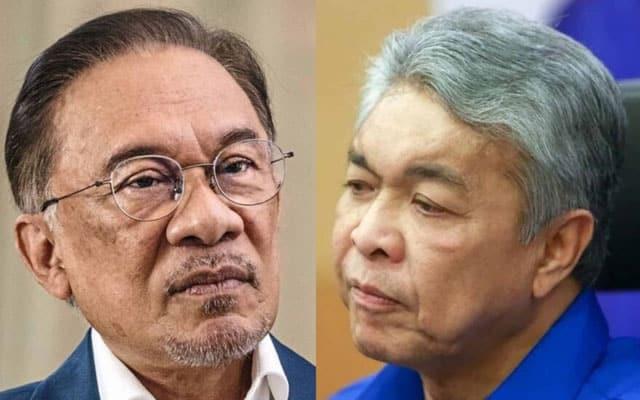 Audio Zahid-Anwar : Yang kecoh pemimpin Umno pro Bersatu, bawahan nampak ok