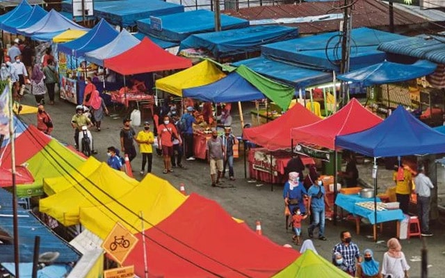 Melaka pula sedia tutup bazar Ramadan, Aidilfitri