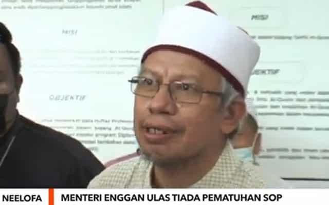 Menteri Agama malas layan isunya langgar SOP majlis Neelofa