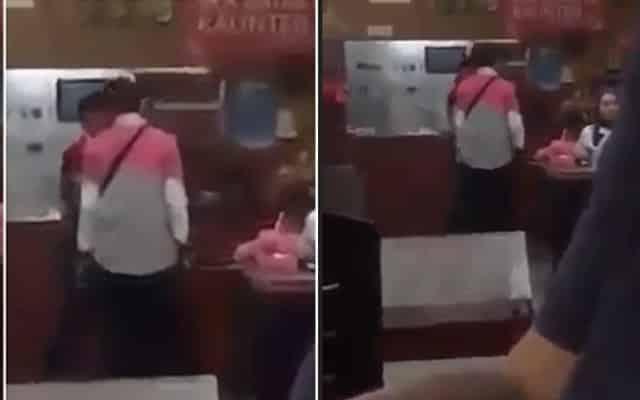 Kecoh !!! Tiba-tiba pemilik restoran ni tampar rider foodpanda, ini sebabnya…