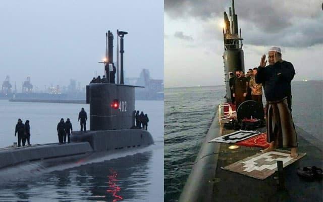 Kapal Selam tentera laut hilang di lautan, usaha jejak 53 kru diteruskan