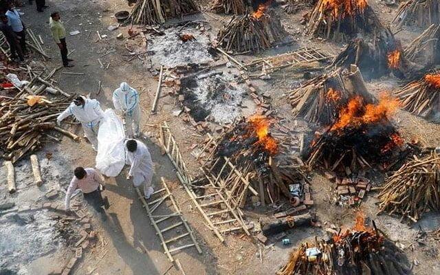 India makin kritikal, penuh mayat bergelimpangan akibat Covid-19