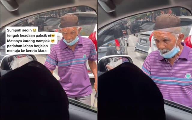 Netizen bongkar kegiatan anak suruh ayah minta sedekah tepi jalan