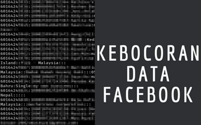 Gempar !!! 11 juta nombor telefon rakyat Malaysia terlibat 'kebocoran data FB'