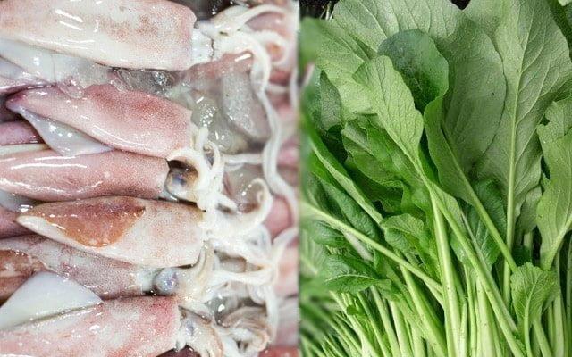 Selepas ayam, harga sotong dan sawi pula naik mendadak