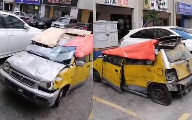 Kereta Kancil 'Legend' kembali gegar jalan raya di Kepong