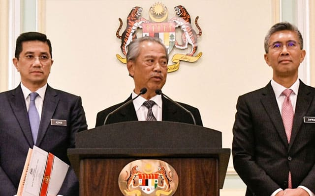 Terkini !!! Kerajaan PN sudah buat hutang berjumlah RM85 bilion