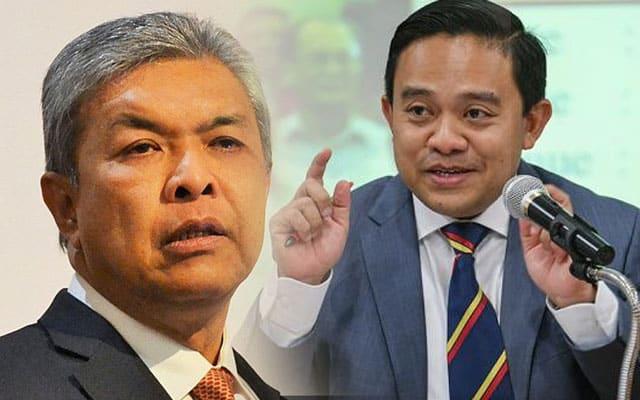 """Wan Saiful """"hasut"""" pimpinan Umno singkirkan Zahid"""