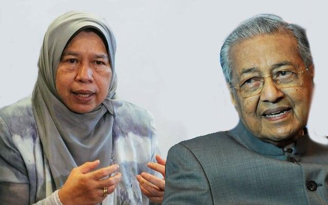 Zuraida mengalu-alukan Mahathir jika mahu bersama PN