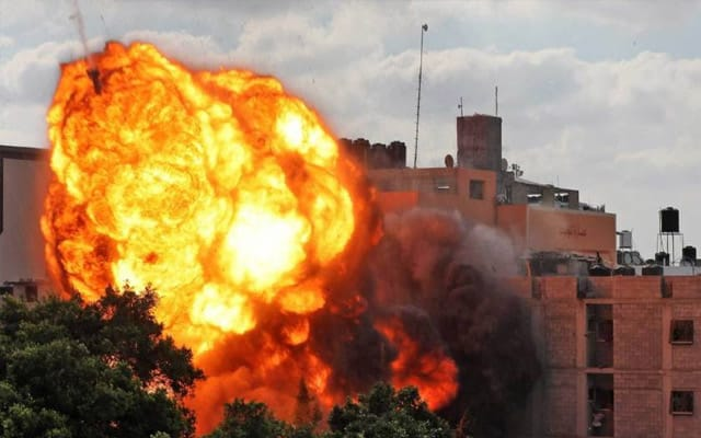 Panas !!! Semenanjung Gaza kembali diserang oleh Israel