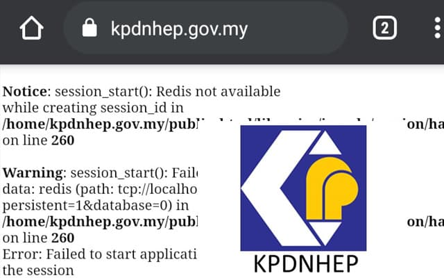 Orang ramai kecoh, laman web KPDNHEP tak boleh diakses menjelang 'Total Lockdown'