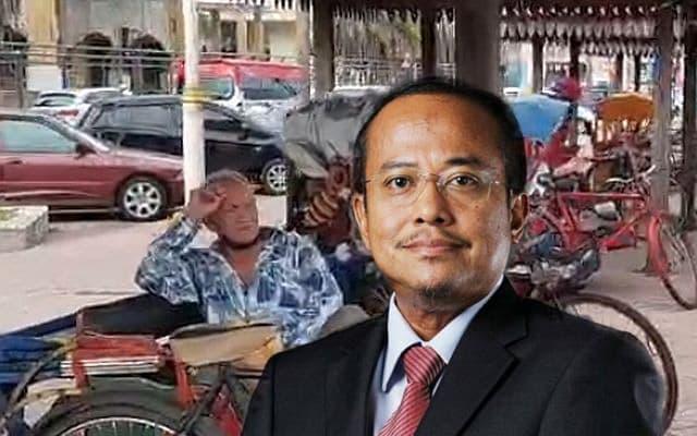 'MB sekarang tak nampak muka', keluh penarik beca Terengganu
