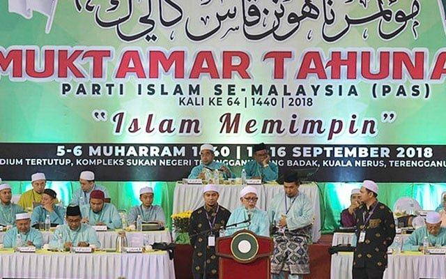 Panas !!! Penyokong Najib dakwa muktamar Pas dibiayai oleh pemimpin Umno?