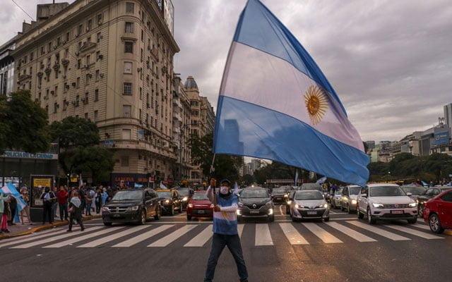 Covid-19 : Argentina umum 'Full Lockdown'