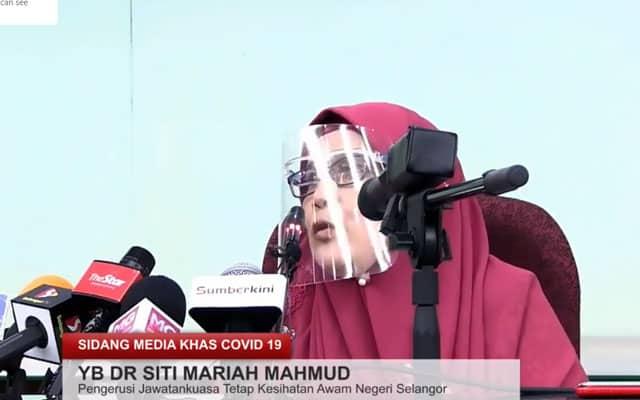 Terkini !!! LIVE : Sidang Media Khas Covid-19 Negeri Selangor