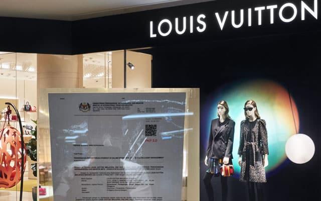 Kerajaan sahkan outlet barangan mewah Louis Vuitton dibenarkan beroperasi sepanjang PKP