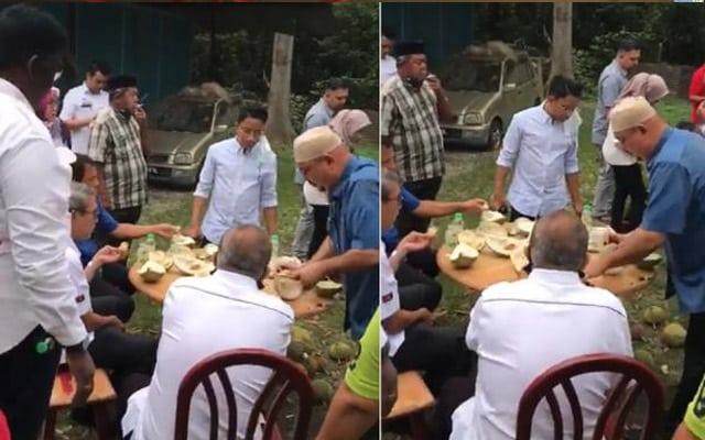 Panas !!! Tular video Timb Speaker Dewan Rakyat 'kenduri' durian